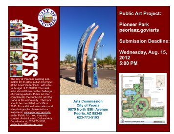 Outdoor Public Art - City of Peoria, Arizona