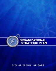 OrganizationalStrategic Plan - City of Peoria, Arizona
