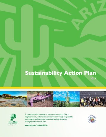 Sustainability Action Plan - City of Peoria, Arizona