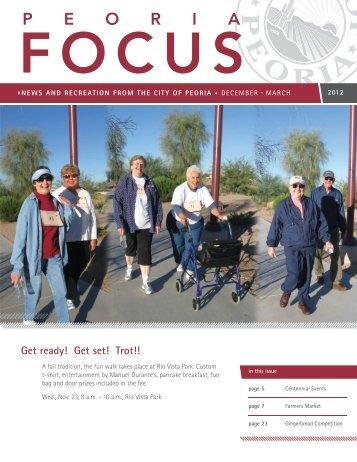 Get ready! Get set! Trot!! - City of Peoria, Arizona