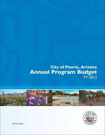 Annual Program Budget - City of Peoria, Arizona