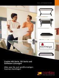 Contex Hd-Serie, Sd-Serie und Software-Lösungen Alles ... - Artdraft