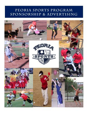 peoria sports program sponsorship & advertising - City of Peoria ...