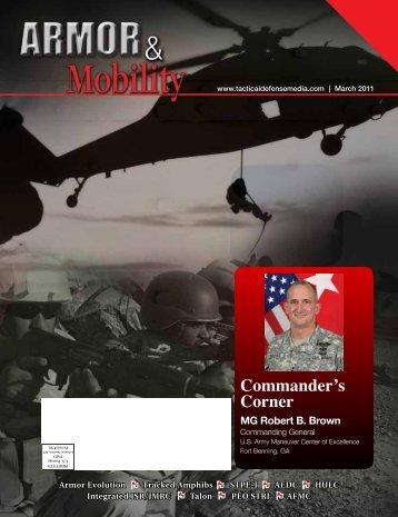 Commander's Corner - PEO STRI - U.S. Army