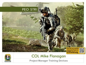 COL Michael Flanagan, USA - PEO STRI