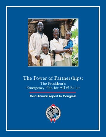 Cover and Introductory Pages - PEPFAR