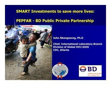 PEPFAR - BD Public Private Partnership