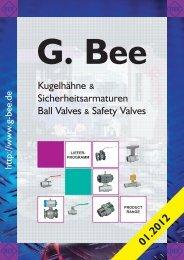 G Bee Lieferprogramm 2012.pmd - Peppas Ltd Combustion - energy ...