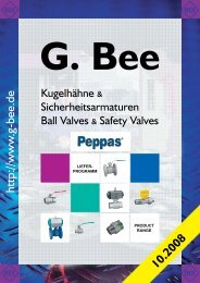 G Bee Lieferprogramm 2008.pmd - Peppas Ltd Combustion - energy ...