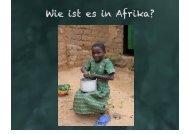 Herterichschule ´Wie ist es in Afrika? - Peppercorn-Stiftung