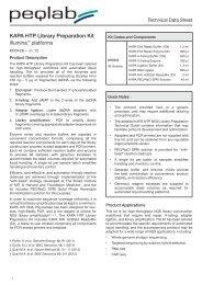 KAPA HTP Library Preparation Kit