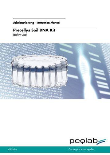 Peqgold total rna kit peqlab biotechnologie gmbh for Soil xchange