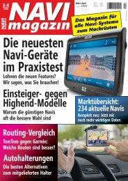 Die neuesten Navi-Geräte im Praxistest - Navi-Magazin ONLINE