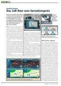 Die neuesten Navi-Geräte im Praxistest - Navi-Magazin ONLINE - Seite 6