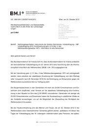GZ.: BMI-WA1130/0007-III/6/2012 Wien, am 24. Oktober 2012 Alle ...