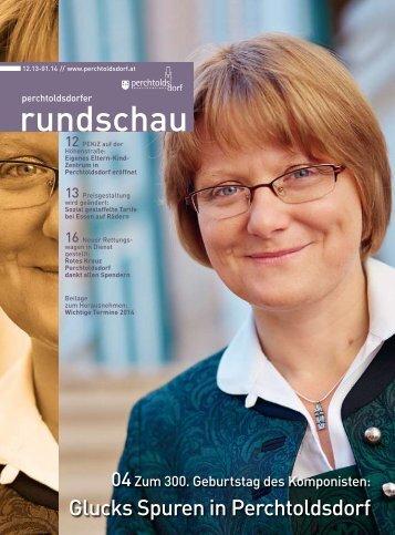 Ausgabe 12/2013 - Marktgemeinde Perchtoldsdorf