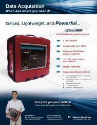 DashMX Portable Data Acquisition System - Perel