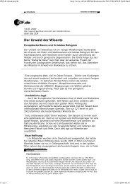 Der Urwald der Wisente - Europäische Bisons und ihr letztes ...