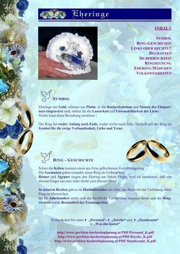 Eheringe - Perfekte Hochzeitsplanung