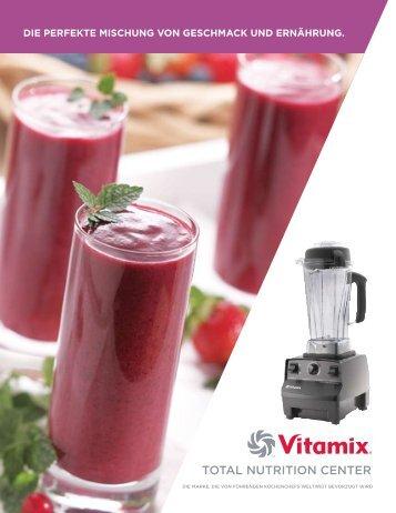 VitaMix TNC 5200 Produktbroschüre - Perfekte Gesundheit Shop