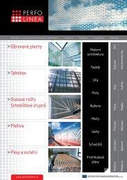 Přehled produktů - PERFO LINEA