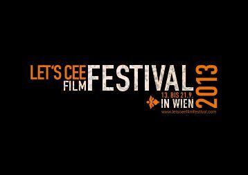 Katalog LET'S CEE Film Festival 2013