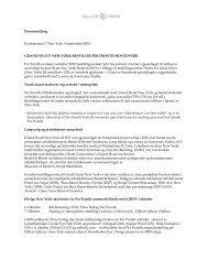 last ned pressemelding i pdf ( no) - Per Fronth