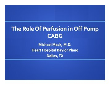 View the PowerPoint Presentation (PDF) - Perfusion.com