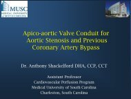 Apico-aortic Valve Conduit for Aortic Stenosis and ... - Perfusion.com