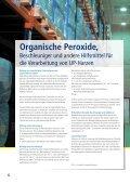 Organische Peroxide Beschleuniger und andere ... - Pergan GmbH - Seite 6