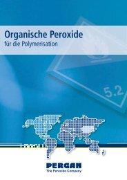Organische Peroxide für die Polymerisation - Pergan GmbH