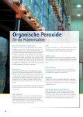 Organische Peroxide für die Polymerisation - Pergan GmbH - Seite 6