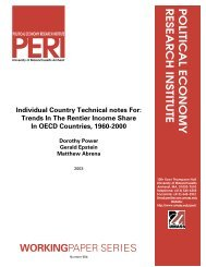Individual Country Technical notes For - Political Economy ...