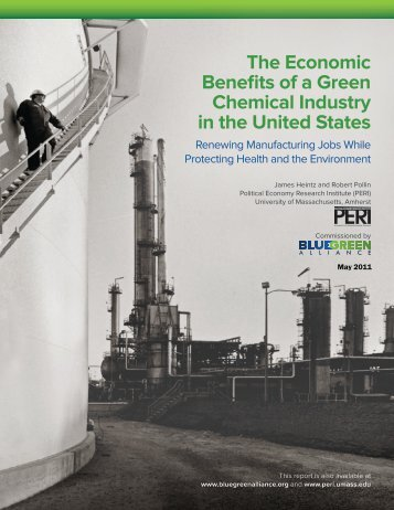 The Economic Benefits of a Green Chemical Industry in the United ...