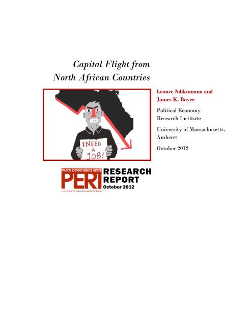 Capital Flight from North African Countries - Political Economy ...
