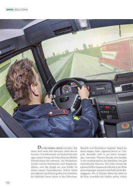 Mobile Fahrsimulator Schulungen
