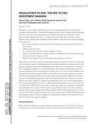 policy notes number 14 - Political Economy Research Institute ...