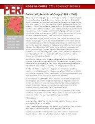 Democratic Republic of Congo (1996-2005) - Political Economy ...
