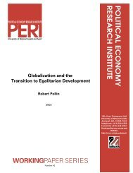 Globalization and the Transition to Egalitarian Development - SSRN