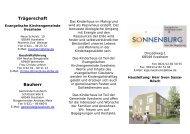 Trägerschaft Bauherr - Evangelische Kirchengemeinde Ilvesheim
