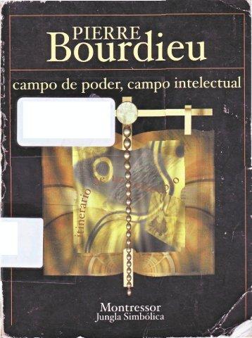 Campo de poder campo intelectual.pdf - Facultad de Periodismo y ...