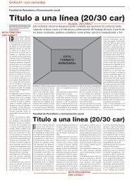 DESCARGAR MAQUETAS en .pdf - Facultad de Periodismo y ...