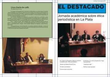 """Trabajo seleccionado sobre """"La Ética del Periodismo"""" - Facultad de ..."""