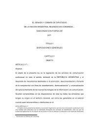Radiodifusión - Diario EL DIA