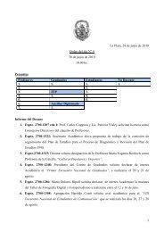 Orden del día 4 - Facultad de Periodismo y Comunicación Social