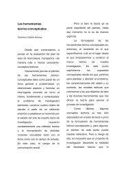 Las herramientas teórico-conceptuales - Facultad de Periodismo y ...