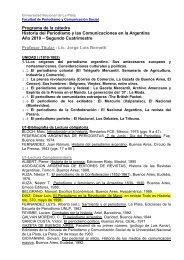 Historia del Periodismo - Facultad de Periodismo y Comunicación ...