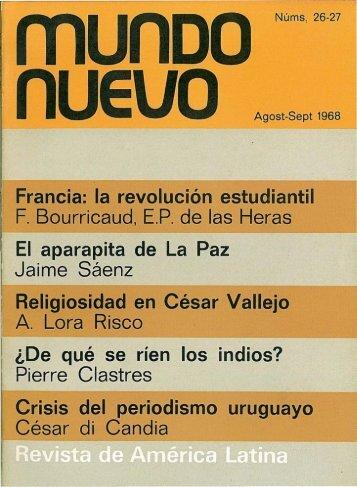 Nº 26-27 (ago.-set. 1968) - Publicaciones Periódicas del Uruguay