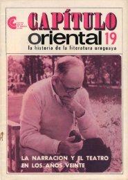 La narración y el teatro en los años veinte - Publicaciones ...