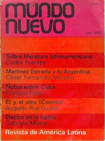 Nº 1 (jul. 1966) - Publicaciones Periódicas del Uruguay